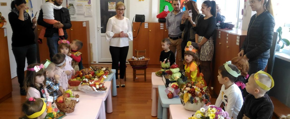 "Prichindeii Grădiniței ""Pinnochio"" au talent la ornamente"