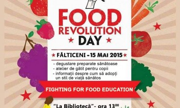 Food Revolution Day la Fălticeni